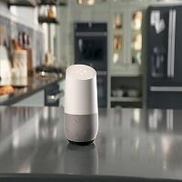 l objet connect google home sera commercialis en france. Black Bedroom Furniture Sets. Home Design Ideas