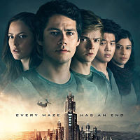 The movie Maze Runner: The Death Cure in theaters this month