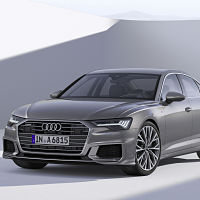 Audi A6: a first glance at the car