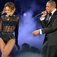 Beyoncé and Jay-Z bow down for the World Cup