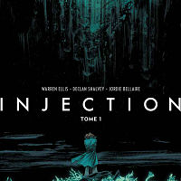 Warren Ellis' comic book 'Injection' will be adjusted for the small screen
