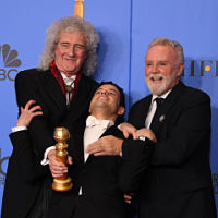 'Bohemian Rhapsody' shines at Golden Globes, winning top awards