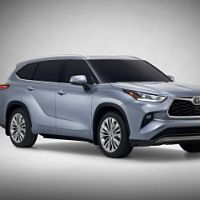 The Toyota Highlander SUV debuts at the New York Auto Show