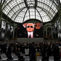 Karl Lagerfeld remembered at 'Karl For Ever' show