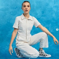 Millie Bobby Brown a créé une collection de sneakers pour Converse
