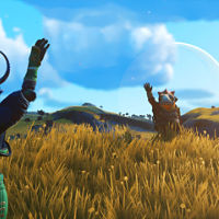 The game 'No Man's Sky' is topping the charts