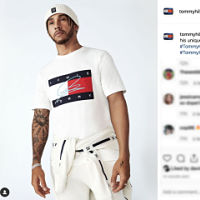 Lewis Hamilton partners up with Tommy Hilfiger for the third time!