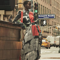 Adut Akech poses for H&M Studio in latest campaign